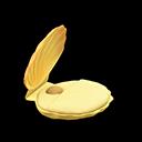Letto conchiglia (Giallo)