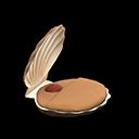 Letto conchiglia (Marrone)