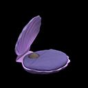 Letto conchiglia (Viola)