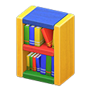 Libreria blocchi di legno (Colorato)