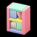 Libreria blocchi di legno (Pastello)