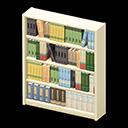 Libreria di legno (Bianco)