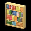 Libreria di legno (Marrone chiaro)