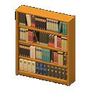 Libreria di legno (Marrone)