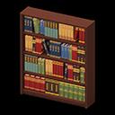 Libreria di legno (Marrone scuro)