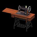 Macchina da cucire antica (Nero)