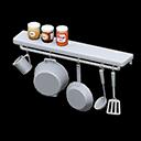 Mensola da cucina (Acciaio inossidabile)
