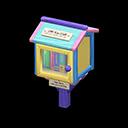 Mini libreria (Pastello)