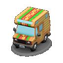 Modellino camper moderno (Hot dog)