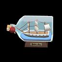 Modellino di nave (Nave mercantile)