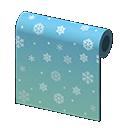 Muro fiocchi di neve