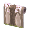 Muro fiori di ciliegio