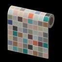 Muro piastrelle colorate
