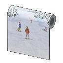 Muro pista da sci