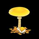 Ombrellone fungo (Fungo giallo)