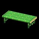 Panca di bambù (Bambù verde)
