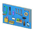 Pannello degli attrezzi (Blu)