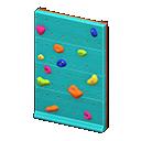 Parete da arrampicata (Blu)