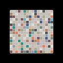 Pavimento mosaico colorato