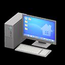 PC fisso (Argentato, Desktop)