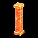 Pilastro iceberg (Arancione ghiaccio)