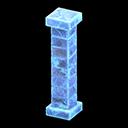 Pilastro iceberg (Blu ghiaccio)