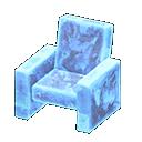 Poltrona iceberg (Blu ghiaccio)