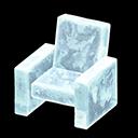 Poltrona iceberg (Ghiaccio)