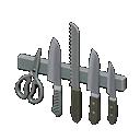 Portacoltelli magnetico (Acciaio inossidabile)