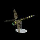Replica XL di libellula striata