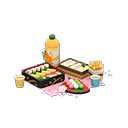 Set da picnic ciliegio