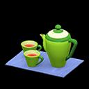 Set da tè (Verde, Blu)
