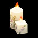 Set di candele di mamma (Fiori chic)