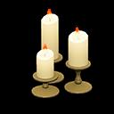 Set di candele nuziale (Chic)