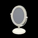 Specchio da tavolo (Bianco)