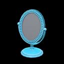 Specchio da tavolo (Blu)
