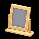 Specchio da tavolo di legno (Legno chiaro)