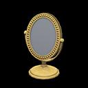Specchio da tavolo (Dorato)