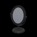 Specchio da tavolo (Nero)