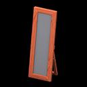 Specchio da terra di legno (Legno di ciliegio)