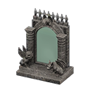 Specchio gotico fantasia (Nero)