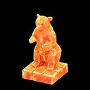 Statua iceberg (Arancione ghiaccio)