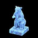 Statua iceberg (Blu ghiaccio)
