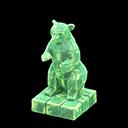 Statua iceberg (Verde ghiaccio)