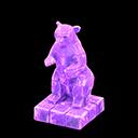 Statua iceberg (Viola ghiaccio)