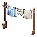 Stendipanni (Righe blu)