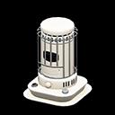 Stufetta bianca cilindrica (Bianco)