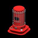 Stufetta bianca cilindrica (Rosso)