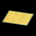 Tappeto di bambù chiaro