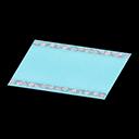 Tappeto nuziale blu